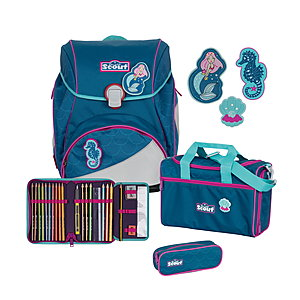 Scout Alpha Mermaid Schulranzenset 4tlg