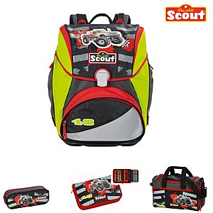 Scout Alpha Schulranzen-Set Speedy Kids
