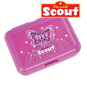 Scout Brotdose Purple Butterfly