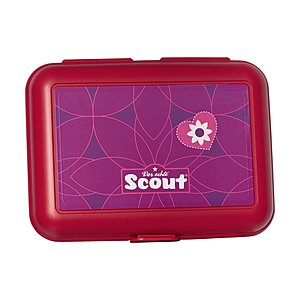 Scout Essbox Pink Flowers
