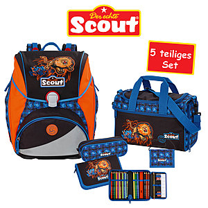 Scout Schulranzen-Set Alpha Lion Ranger