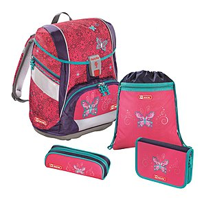 Step by Step 2in1 Butterfly Dancer Schulranzen Set