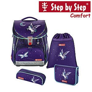 Step by Step Comfort Pegasus Dream Schulranzen-Set 4-tlg.