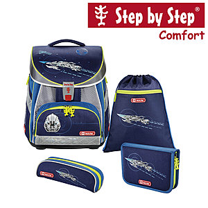 Step by Step Comfort Space Pirate Schulranzen-Set 4-tlg.