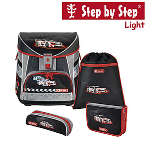 Step by Step Light Racer Schulranzen-Set 4-tlg.