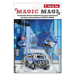 Step by Step MAGIC MAGS City Cops