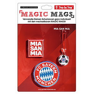 Step by Step Magic Mags FC Bayern Mia san Mia