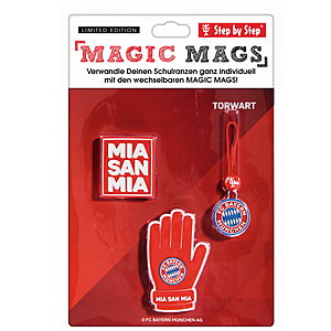 Step by Step Magic Mags FC Bayern Torwart