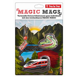 Step by Step Magic Mags Fast Train