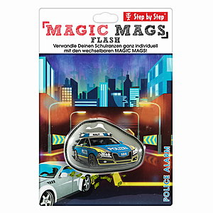 Step by Step Magic Mags Flash Police Alaram