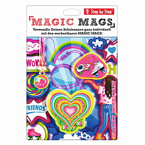 Step by Step Magic Mags Freaky Heartbeat