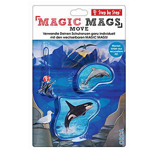 Step by Step Magic Mags Move Orca