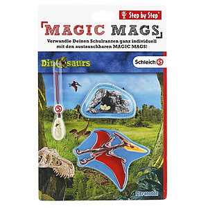 Step by Step Magic Mags Schleich®, Dinosaurs Pteranodon