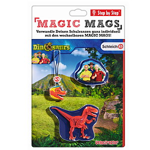 Step by Step Magic Mags Schleich Velocirap
