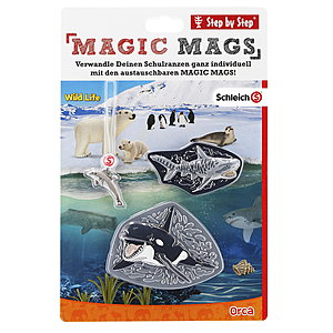 Step by Step Magic Mags Schleich® Wild Life Orca
