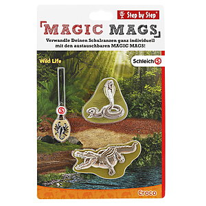 Step by Step Magic Mags Schleich®,Wild Life Croco