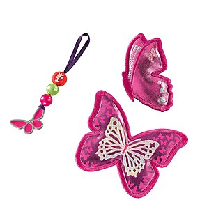 Step by Step Magic Mags Shiny Butterfly 3 teilig