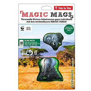 Step by Step Magic Mags WWF Elephants