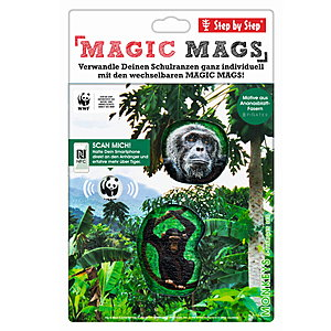 Step by Step Magic Mags WWF Monkeys