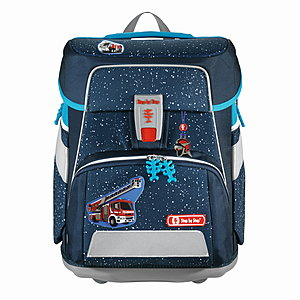 Step by Step Space Sky Rocket Set mit Magic Mags Fire Engine