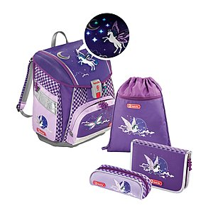 Step by Step Touch 2 Flash Pegasus Purple Schulranzenset 4 tlg.