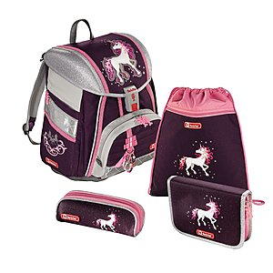 Step by Step Touch 2 Unicorn Schulranzenset 4 tlg