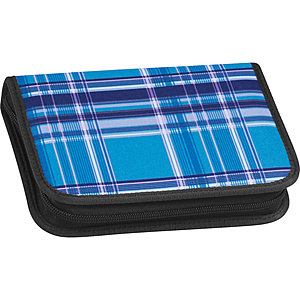 Take it Easy Etui 2 Klappen leer Viola Blue