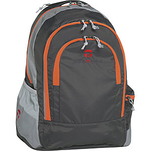 Take it Easy Schulrucksack Berlin, Light Nylon 164 grau orange