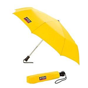 4YOU Taschenschirm / Regenschirm gelb Y1001415