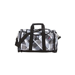 4YOU Igrec Sportbag Big Check M 656 grau schwarz kariert