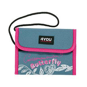 Accessoires - 4YOU Brustbeutel Money Bag Denim Look 568 - Onlineshop Schulranzen.net
