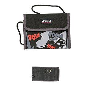 4YOU Money Bag Brustbeutel Comics 765