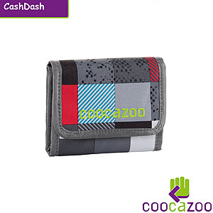 coocazoo CashDash Checkmate Blue Red