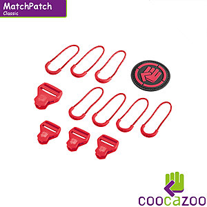 coocazoo MatchPatch Classic Ribbon Red