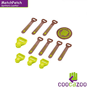 coocazoo MatchPatch Leather Limepunch Melange