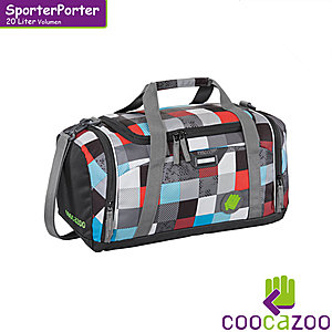 coocazoo SporterPorter Checkmate Blue Red