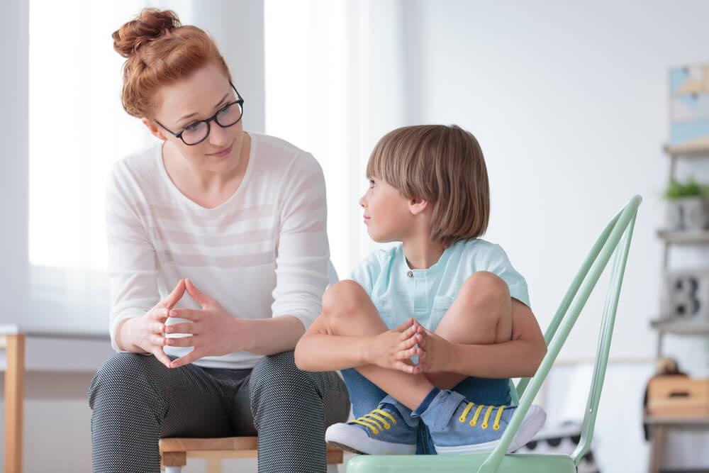 Eltern-Kind-Gespräch